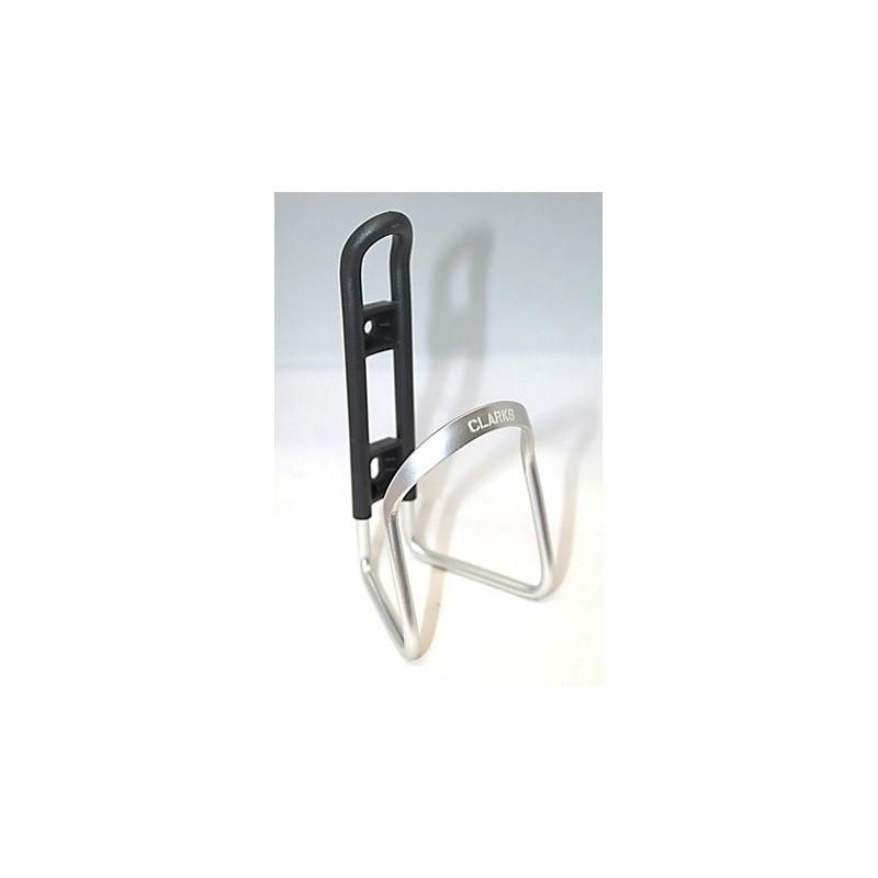 Флягодержатель алюминиевый CLARK`S BC-20, серебристый 3-163
