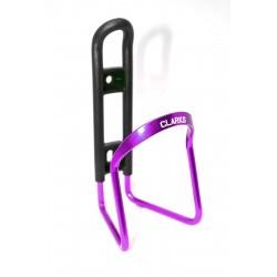 Флягодержатель алюминиевый CLARK`S BC-20, фиолетовый 3-165