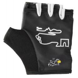 Перчатки Ventura Tour De France, размер S, черный, без пальцев 5-719886