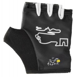 Перчатки Ventura Tour De France, размер M, черный, без пальцев 5-719887