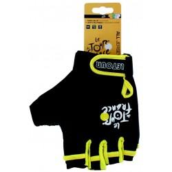 Перчатки Ventura Tour De France, размер L, черный, без пальцев 5-719976