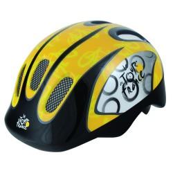 Шлем детский Ventura Tour De France, размер M, черно-желтый 5-731008