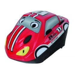 Шлем детский VENTURA Semi-InMold, размер M, черно-красный 5-731050