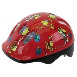Шлем детский Ventura Frogs, размер S, красный 5-734070
