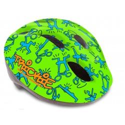 Шлем детский Author Trickie, размер M, зелено-синий 8-9090081
