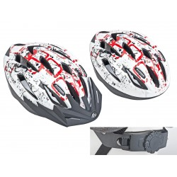Шлем Author Vento, размер L,красно-белый 8-9001373