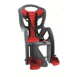Кресло детское заднее Bellelli Pepe на багажник, серое 0-280044