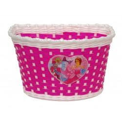 Корзина Horst, на руль или багажник, розовый 00-170430