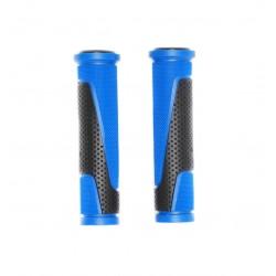Грипсы Horst, 130мм, резиновый, черно-синие 00-170467