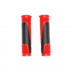 Грипсы Horst, 130 мм, резиновый, черно-красные 00-170468