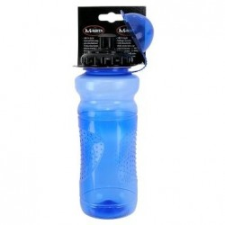 Фляга пластиковая M-Wave 700 мл прозрачно-голубая, с крышкой 5-340304