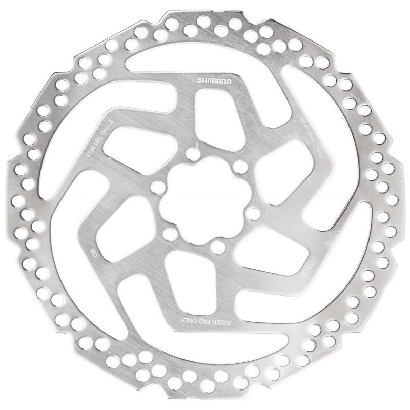 Тормозной диск Shimano SM-RT26 диаметром 160 мм под крепление 6 болтов