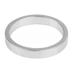 """Кольцо проставочное M-Wave, алюминий, 5 мм, серебристое, 1 1/8"""""""