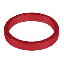 "Кольцо проставочное M-Wave, алюминий, 5 мм, красное, 1 1/8"""