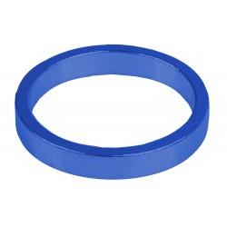 """Кольцо проставочное M-Wave, алюминий, 5 мм, синее, 1 1/8"""""""