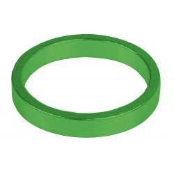 """Кольцо проставочное M-Wave, алюминий, 5 мм, зеленое, 1 1/8"""""""