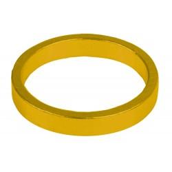 """Кольцо проставочное M-Wave, алюминий, 5 мм, золотое, 1 1/8"""""""
