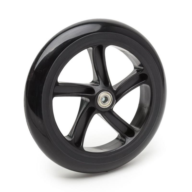 Колесо для самоката SunColor 200 мм, полиуретан, черное 00-170200