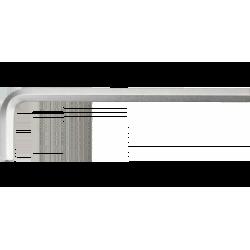 Ключ шестигранный Neo 7 мм, CrV 09-539