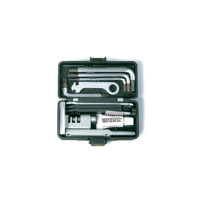 Набор инструментов Topeak Survival Gear Box, металлический бокс TC9302