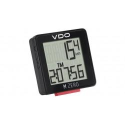 Велокомпьютер VDO M Zero WR, 5 функций, чёрно-красный 4-3000