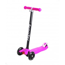 Самокат детский SunColor, светящиеся колеса, алюминий-пластик, розовый 00-170071-1