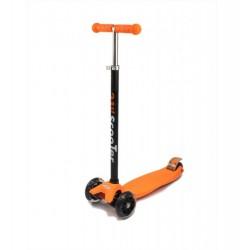 Самокат детский SunColor, светящиеся колеса, алюминий-пластик, оранжевый 00-170073-1