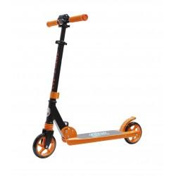 Самокат COD-Xmini, с амортизатором, черно-оранжевый 00-180030
