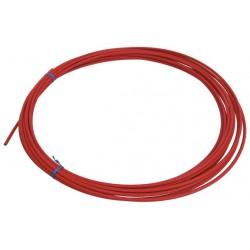 Оплетка для троса переключателя Shimano SP41 красная, 4 мм, 1 метр Y6Y198050