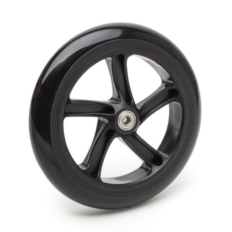 Колесо для самоката SunColor 145 мм, полиуретан, черное