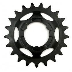 Звезда задняя Shimano 21T, 2.3 мм, черная
