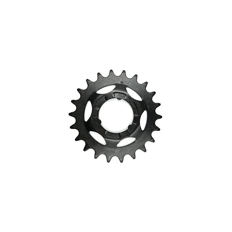 Звезда задняя Shimano 22T, 2.3 мм, черная