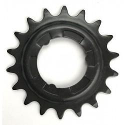 Звезда задняя Shimano 18T, 2.3 мм, черная