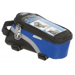 Сумка-чехол для смартфона M-Wave, на раму, влагозащитный, черно-синий 5-122554
