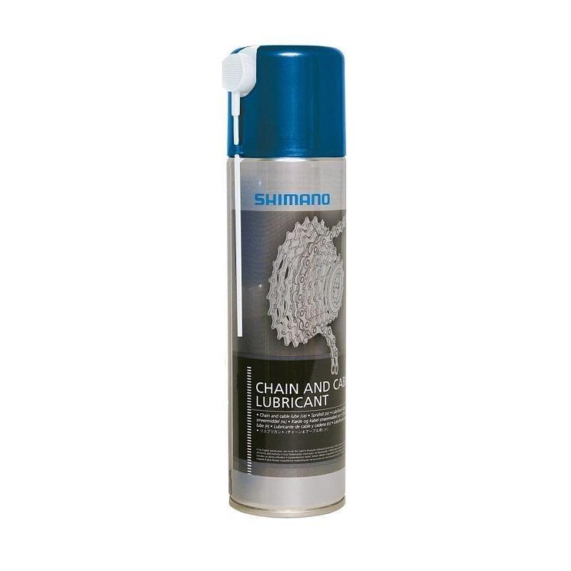 Смазка Shimano для цепи и оплетки, аэрозоль 200 мл WS1500101