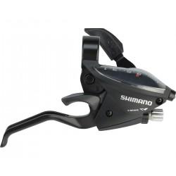 Шифтер/Тормозная ручка Shimano Tourney ST-EF510, правая, 8 скоростей, черный, трос+оплетка ESTEF5102RV8AL