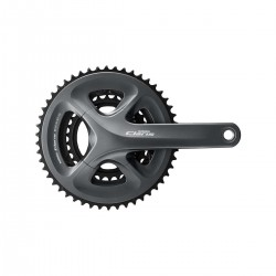 Система Shimano Claris FC-R2030, 170 мм, Hollowtech II, 50/39/30Т, черная EFCR2030CX090X