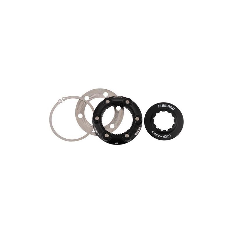 Адаптер дискового тормоза Shimano SM-RTAD10, переходник с Center Lock на 6 болтов ESMRTAD10