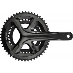 Система Shimano FC-RS510, 172.5 мм, Hollowtech II, 50/34Т, черная EFCRS510DX04X