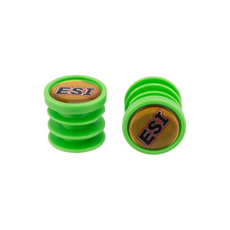 Заглушки руля ESI, пластиковые, зеленые BP1GN