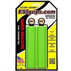 Грипсы ESI Extra Chunky, силиконовые, зеленые