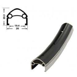 Обод Ventura H35231 622x19 мм, двойной, черный, 36 отв, F/V 00-180946