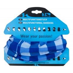 Бандана M-Wave Blue Squared, р-р 24-48 см, сине-голубой 5-715173
