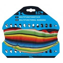 Бандана M-Wave Jamaica, р-р 24-48 см, разноцветная 5-715188