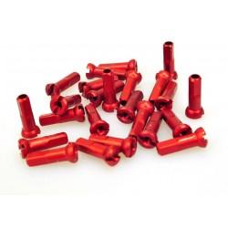 Ниппель Sapim Polyax алюминий 14G, 14 мм, красный GAP1401400R SAPCPA23