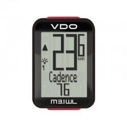 Велокомпьютер VDO M3.1, 17 функций, подсветка, термометр 4-30030