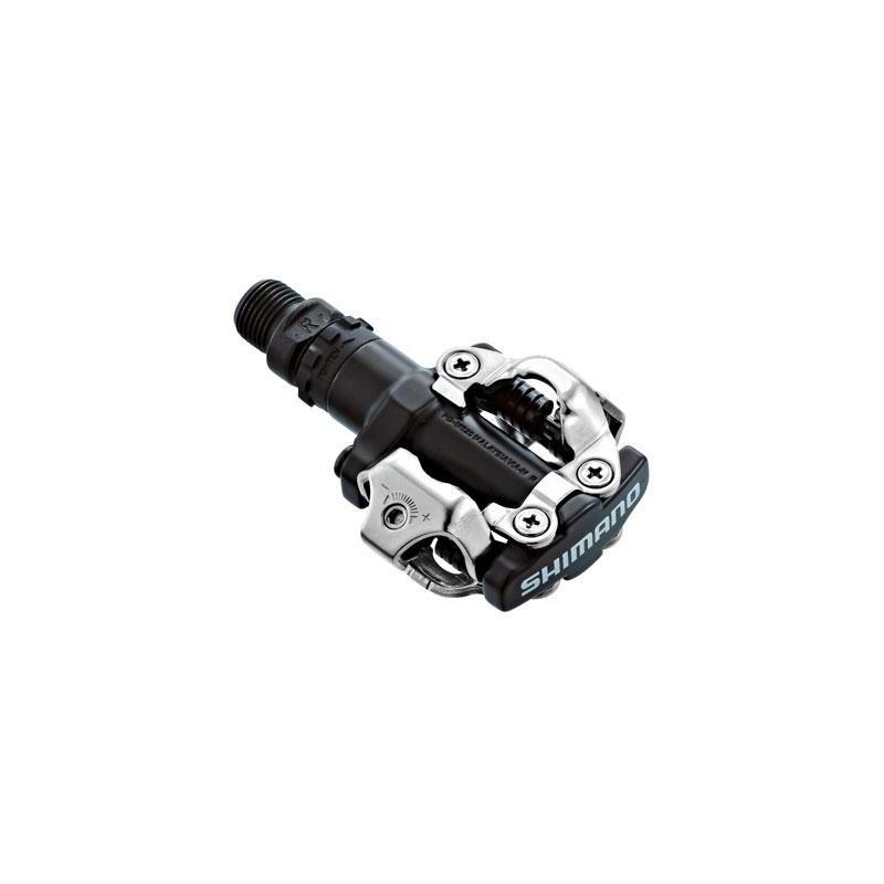 Контактные педали Shimano PD-M520 черные, с шипами SM-SH51 EPDM520L