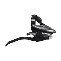 Шифтер/Тормозная ручка Shimano Tourney ST-EF510, правая, 7 скоростей, черный, трос