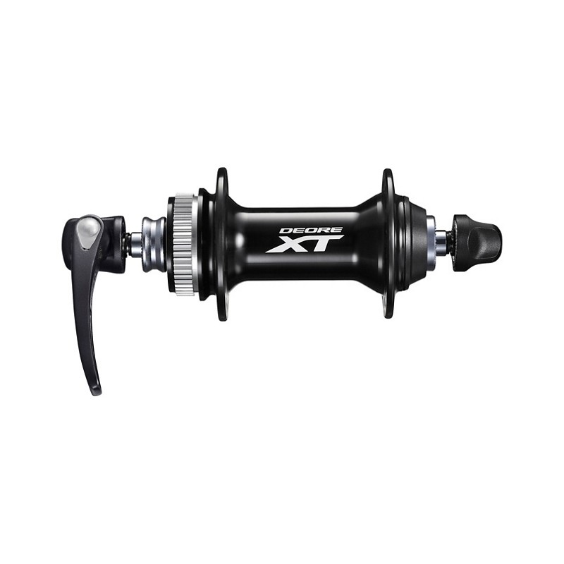 Втулка передняя Shimano XT M8000, 32 отв, QR, C.Lock, черная