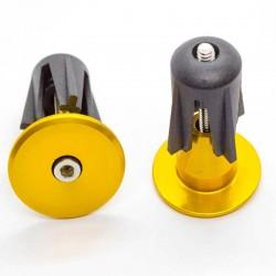 Заглушки руля Sence 28 мм, алюминий, золотые PLUG-02_gold